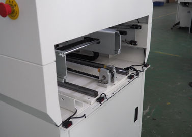 China SMT Telescopic Gate PCB Conveyor 0.6mm Thickness PTD-550 PLC Control System supplier