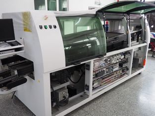 China 18KW Solder Pot Power Automatic Wave Soldering Machine PLC control system DA-350LFC-N supplier