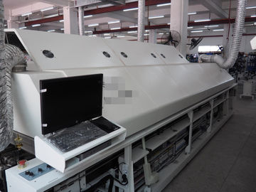 China Integral Two Stage Lead Free Reflow Soldering GS-1000 for LED Tube Light Assembly Machine supplier