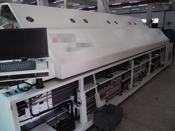 China Gs-1000 Middle Lead Free Reflow Oven Ten Heating Zones Environmental For 50-400Mm Pcb supplier