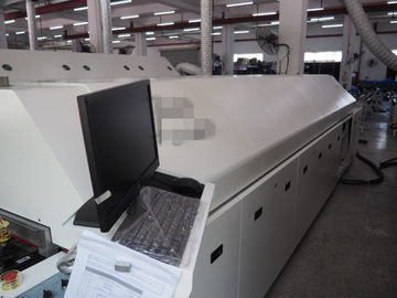 China Hot Air Reflow Oven Economical Water Cooling 92KW GS-1200 with PLC control system supplier