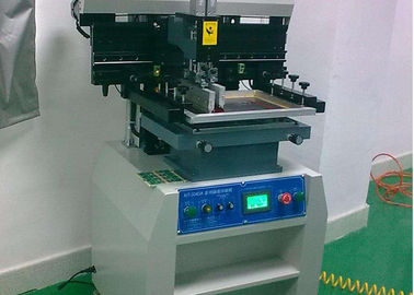 China 220V solder paste printer with 15L/min Air Consumption , solder printer machine factory