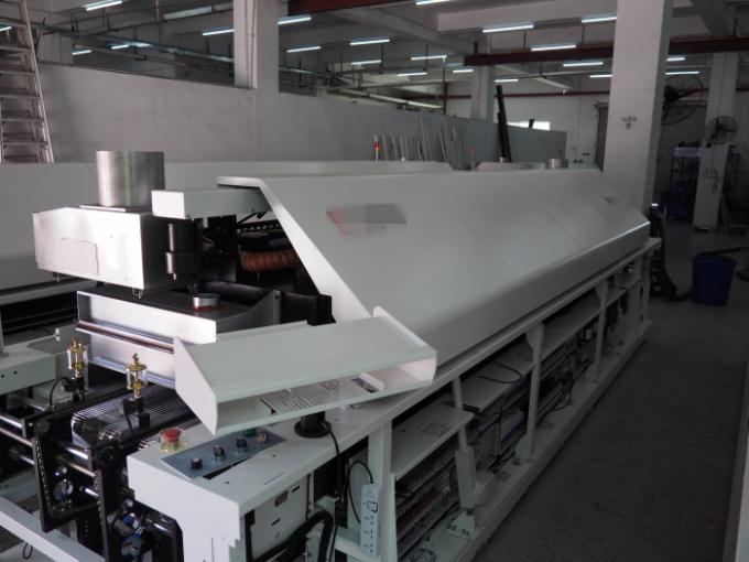 GS-1000 Hot Air Reflow Oven Ten Heating Zones Thick Aluminum Plate for 50-400mm PCB