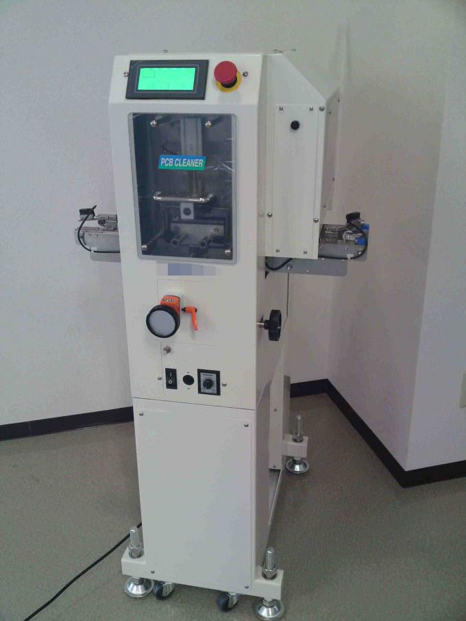 PCB Cleaning Machine 1200 R.P.M Brushing Speed PTCC-350A / pcb vacuum cleaner