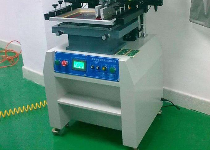 220V solder paste printer with 15L/min Air Consumption , solder printer machine
