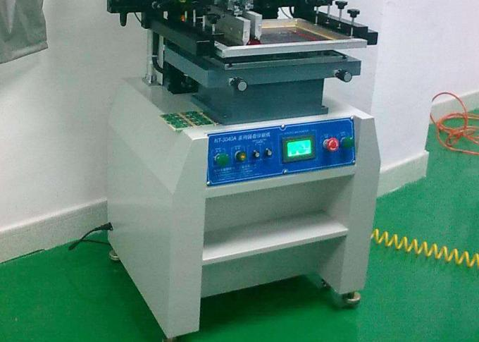 Touch-screen solder paste printer semi-auto PT-250 model with 5s Printing Time