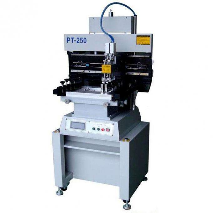 Economical Solder Paste Printer 15L/min Air Consumption PT-250 with PLC System